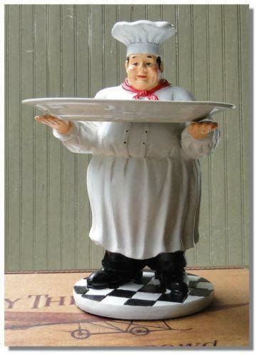kitchen chef statues figurines ebay