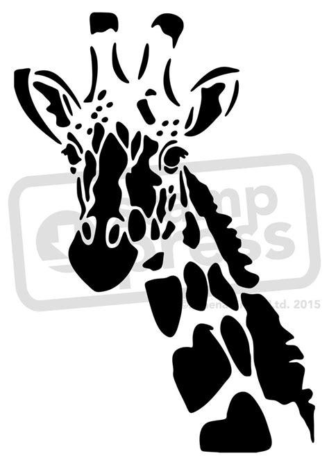 giraffe stencil  giraffe wall stencil template