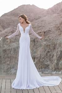 julie vino spring 2014 wedding dresses orchid bridal With long sleeve sheath wedding dress