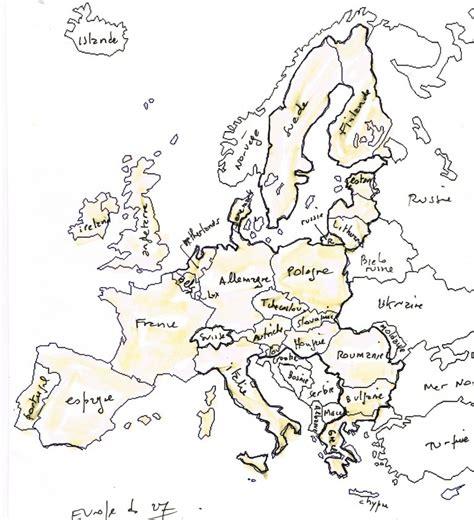 Carte Vierge De L Europe A Compléter by Carte G 233 Ographique De L Europe Des Rivi 232 Res