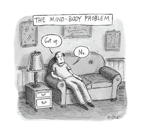 mind body problem drawing  roz chast