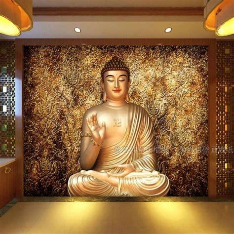 custom photo wallpaper custom  stereo buddha wallpaper