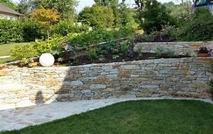 Steinmauer Garten Bilder : gartengestaltung maschinenring erlauftal ~ Bigdaddyawards.com Haus und Dekorationen