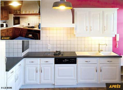 peinture r駭ovation meuble cuisine charmant peinture pour relooker meuble en bois 14 r233novation de cuisine relooking de meuble is232re et rh244ne wasuk
