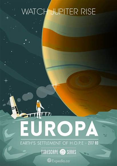 Travel Posters Destination Animated Poster Europa Series