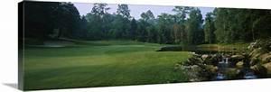 Stream in a golf course, Laurel Valley Golf Club, Ligonier ...