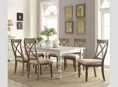 Riverside Furniture Aberdeen 7 Piece Farmhouse Dining Set