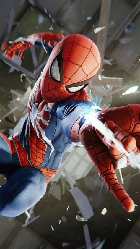 spider man ps video game   wallpaper