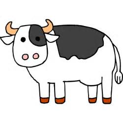 Cartoon Cow Drawings