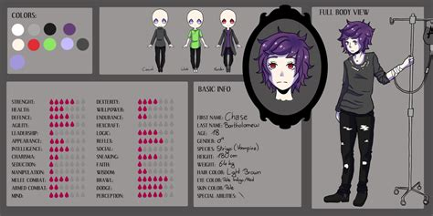creepypasta oc template creepypasta oc ref bio updated by midoriaoki on deviantart