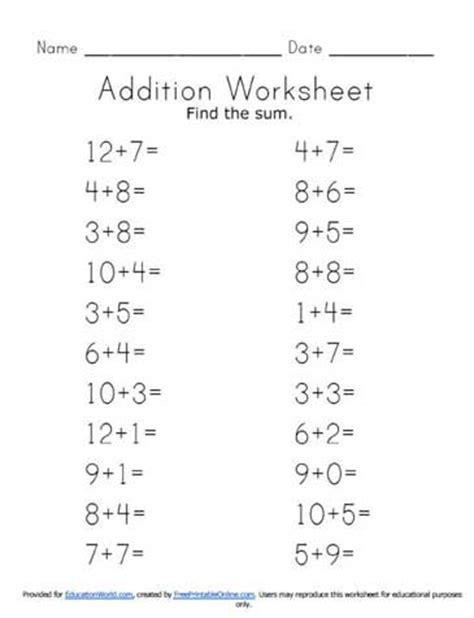 division worksheets horizontal addition worksheets 187 addition worksheets horizontal free printable worksheets for pre school