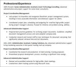 resume templates administrative coordinator job description work experience resume guide careeronestop