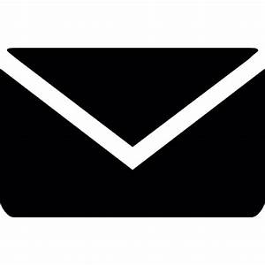 Black email envelope Icons | Free Download