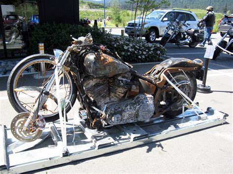 Tsunami-surviving Harley-davidson From Japan Headed For