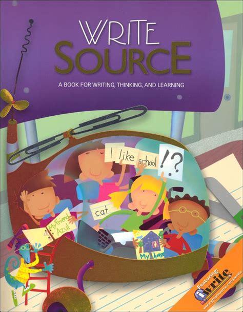 Write Source Student Book Grade 1 2009 Ed (037728) Details  Rainbow Resource Center, Inc
