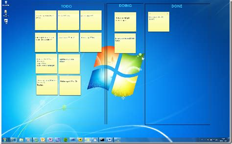 windows 7 post it bureau windows 7 sticky notes