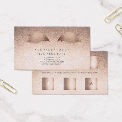 loyalty card  punch customer beauty rose powder zazzle