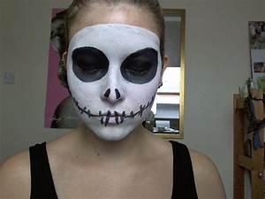 Halloween: Jack Skellington Make Up Tutorial – Chyaz