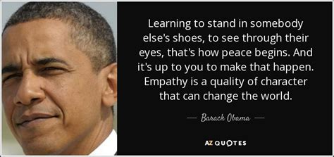 barack obama quote learning  stand   elses