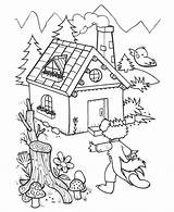 Prison Joseph Coloring Pages Pigs Three Houses Jail Grisar Sma Printable Sagor Getcolorings Getdrawings Ut Malarbilder Skriv Nº Teckningar Foer sketch template