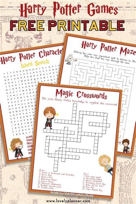 harry potter maze  printable kids activity sheet