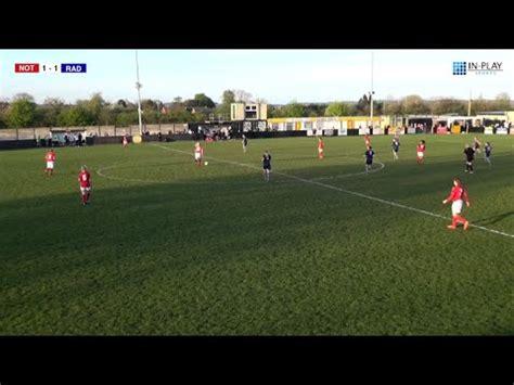 Notts FA - Women's County Cup Final 2016 - [GOALS] - YouTube