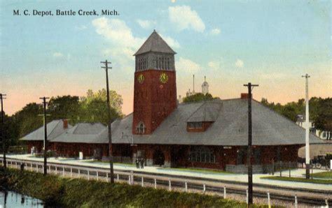 File:Michigan Central Depot Post Card Battle Creek MI.jpg ...