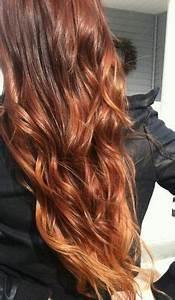 Ombré Hair Cuivré : auburn ombre hair google search coiffure pinterest ~ Melissatoandfro.com Idées de Décoration