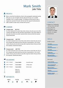 Free downloadable CV template examples, career advice, how to write a CV, curriculum vitae, library