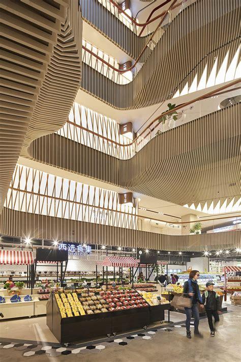 unstudio completes shanghai mall designed  vertical