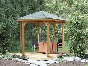 Holzpavillon Selber Bauen : holz pavillon offen gartenpavillon 300x250cm vom gartenhaus fachh ndler ~ Orissabook.com Haus und Dekorationen