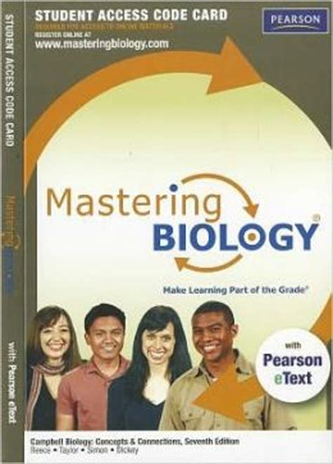 Masteringbiology With Pearson Etext Student Access Code