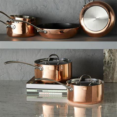 aldis copper pans     time  christmas