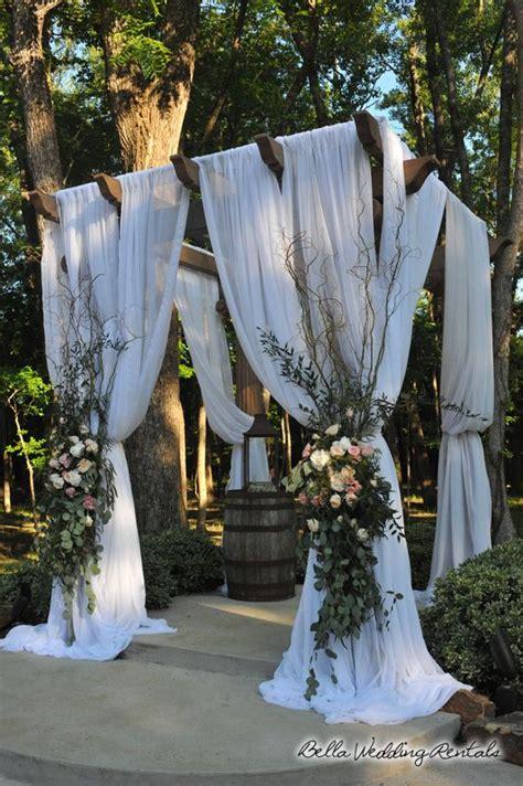 wedding arch pergola bella wedding rentals too