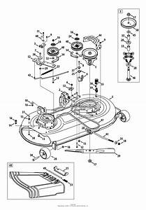 Mtd 13ax795s004  2013  Parts Diagram For Mower Deck 42