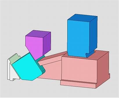 Structure Mold Slide Mould Movement Automatic Exhibition