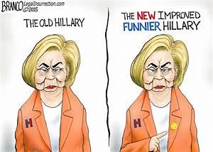 The New Hillary | A.F. Branco | Conservative Cartoon