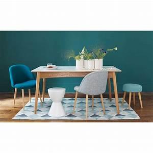 Chaise Vintage Maison Du Monde : table manger extensible blanche 6 10 personnes l150 ~ Melissatoandfro.com Idées de Décoration