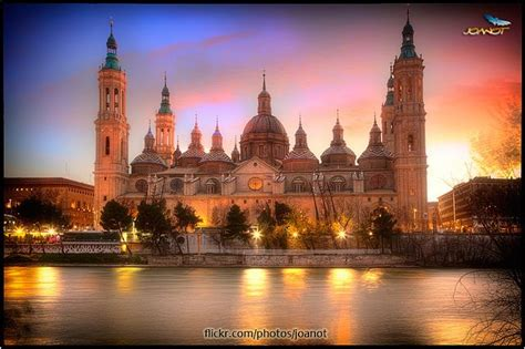 Basilica Cathedral Of Our Lady Of The Pillar Zaragoza