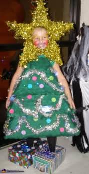 christmas tree homemade halloween costume