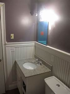 hometalk beadboard bathroom re do