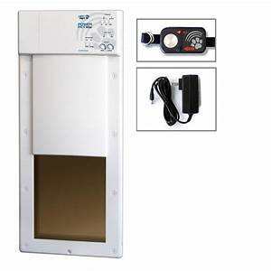high tech pet 12 in x 16 in power pet large electronic With power dog door