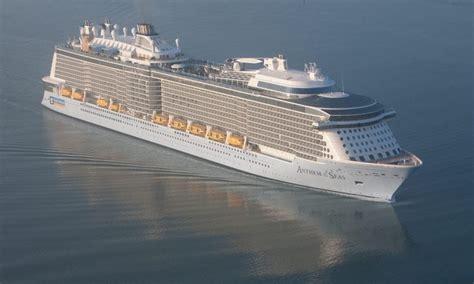 royal caribbean orders  icon class cruise ship