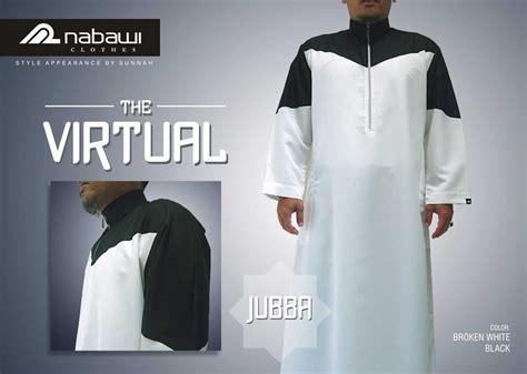 jual nabawi clothes baju muslim pria jubba the