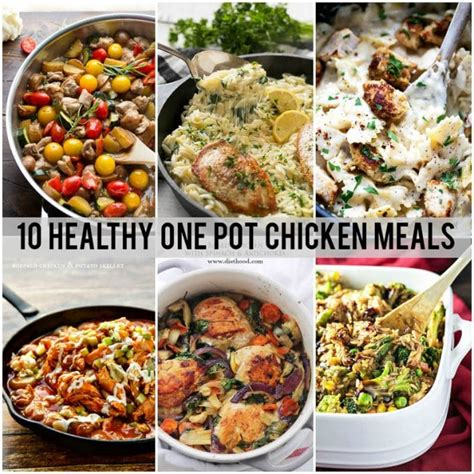 meals to do with chicken 10 healthy one pot meals with chicken dinner at the zoo
