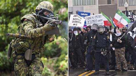 neo nazis  canadian military training vice