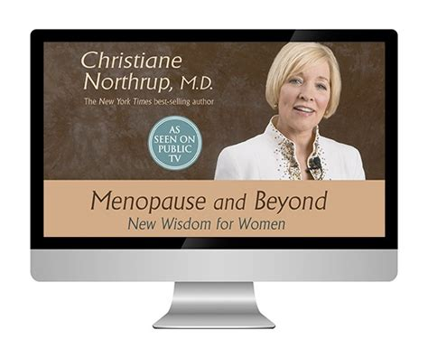 christiane northrup menopause