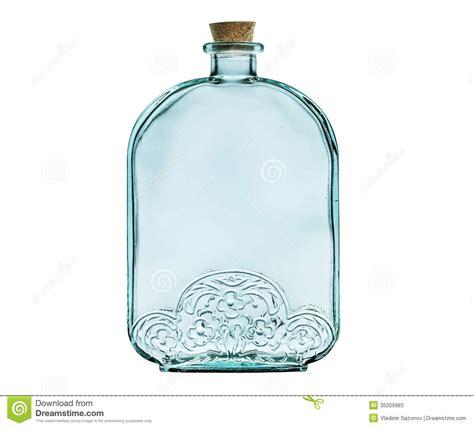 le avec bouteille en verre videz la bouteille en verre avec le bouchon de li 232 ge d isolement sur le blanc photos stock