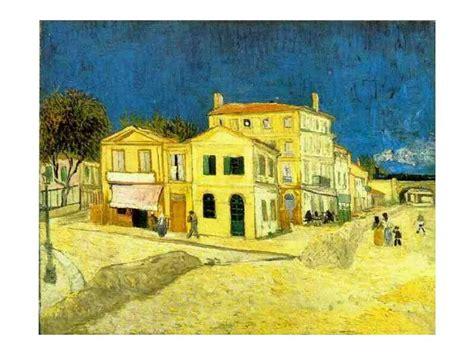 maison jaune gogh vincent gogh la maison jaune arles photo de peinture maturita z francouzštiny