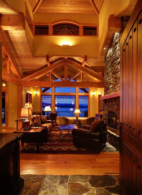 mountain architects hendricks architecture idaho lakefront mountain cabin